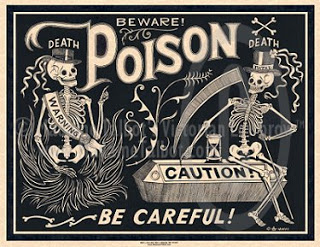 warning poison