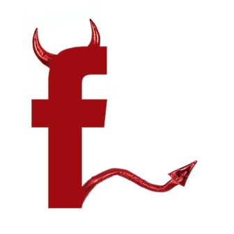 Image result for evil facebook